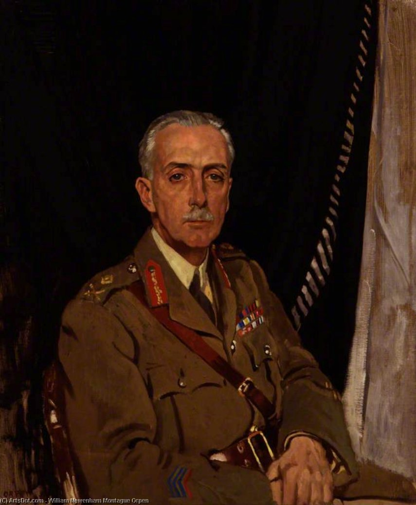 Charles Sackville-west , 4th Barone Sackville di William Newenham Montague Orpen (1878-1931, Ireland)