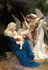 William Adolphe Bouguereau - Canto degli Angeli