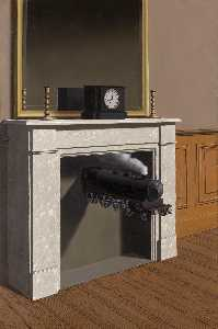 Galleria rene magritte 1898 1967 belgium il lavoro - Magritte uomo allo specchio ...