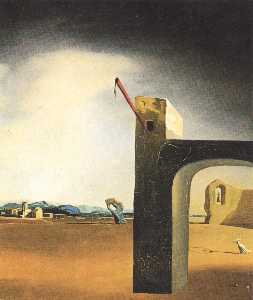 Salvador Dali - 'Morphological Echo' , ci..