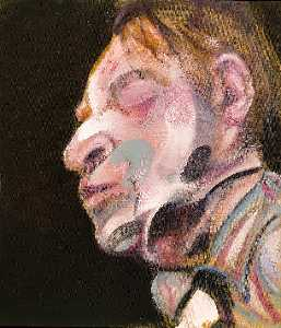 Francis Bacon - self-portrait , 1972 b