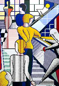 Roy Lichtenstein - Bauhaus scala