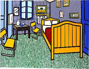 Roy Lichtenstein - Camera da letto ad Arles