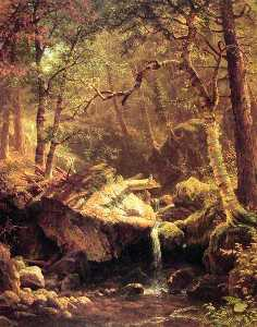 Albert Bierstadt - Il Mountain Brook