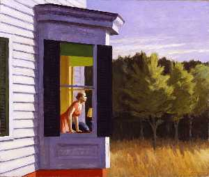 Edward Hopper - mattina di cape cod