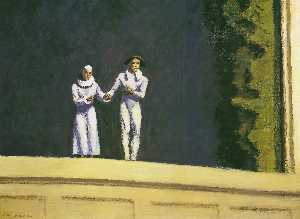 Edward Hopper - Due Comici