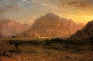 Frederic Edwin Church - Il Deserto Arabico