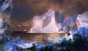 Frederic Edwin Church - Gli iceberg
