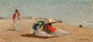 Winslow Homer - east hampton , long islan..