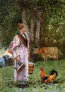 Winslow Homer - The Milk domestica