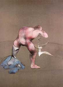Francis Bacon - Man at Lavabo