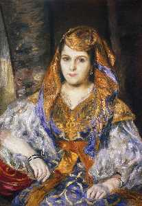 Pierre-Auguste Renoir - La signora Stora in algerino Dress