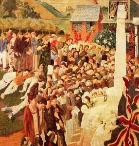 Stanley Spencer - Scoprimento Cookham monumento ..