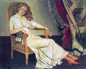 Balthus (Balthasar Klosso.. - La gonna bianca