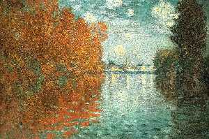 Claude Monet - effetto autunnale ad argenteuil