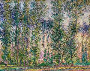 Claude Monet - Pioppi a Giverny