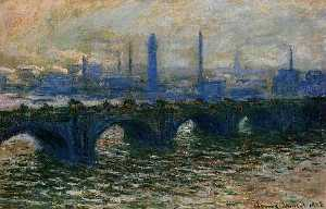 Claude Monet - waterloo ponte