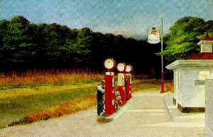 Edward Hopper - Gas