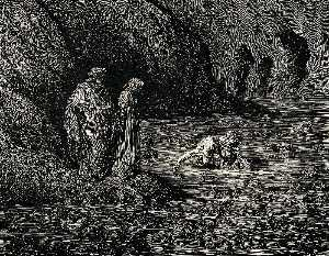Paul Gustave Doré - l inferno , Canto 32