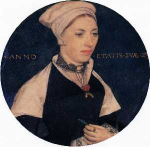 Hans Holbein The Younger - Sig ra . Pemberton