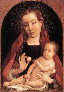 Jan Provoost - madonna col bambino