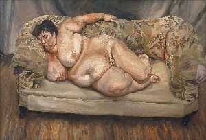 Lucian Freud - Vantaggi Supervisor Sleep..