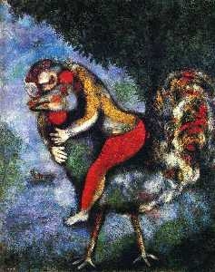 Marc Chagall - il gallo