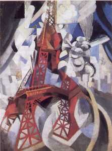 Robert Delaunay - il rosso torre