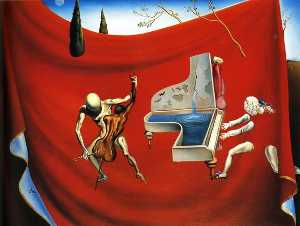 Salvador Dali - Musica - the red orchestra