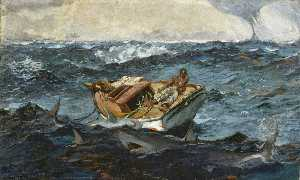 Winslow Homer - La Corrente del Golfo