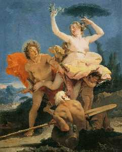 Giovanni Battista Tiepolo - Apollo e Dafne