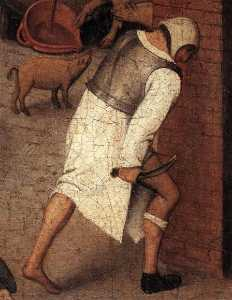 Pieter Bruegel The Younge.. - Proverbi particolare  18 ..