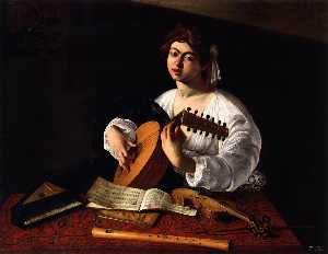 Caravaggio (Michelangelo .. - the lute player