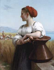 William Adolphe Bouguereau - Moissoneuse