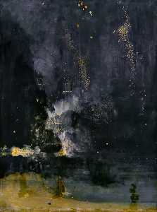 James Abbott Mcneill Whis.. - Notturno in nero e oro do..