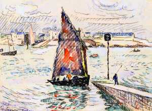 Paul Signac - Port-Louis