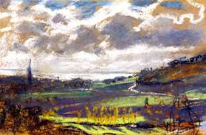 Claude Monet - La Senna estuario