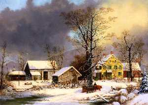 George Henry Durrie - in inverno dopodomani  pa..