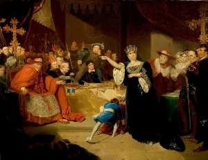 George Henry Harlow - 'henry Viii' , atto ii , Scena..
