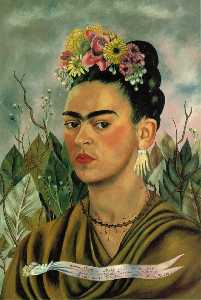 Frida Kahlo - Self-Portrait dedito a dr..