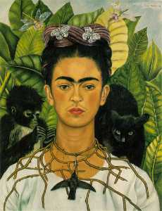 Frida Kahlo - autoritratto