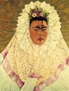 Frida Kahlo - Self-Portrait come un Teh..