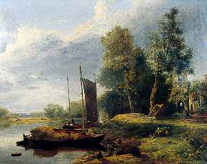 George Vincent - sul fiume Yare , Norfolk