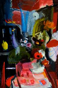 Ivon Hitchens - Piece Fiore