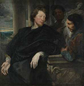 Anthony Van Dyck - Ritratto di George Calibr..