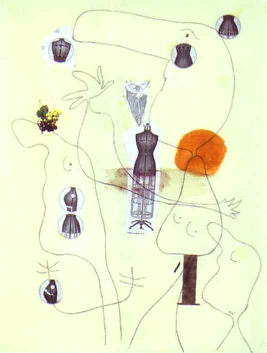 Metamorfosare, olio di Joan Miro (1893-1983, Spain)
