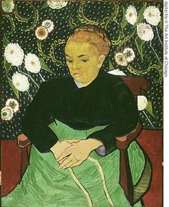 Vincent Van Gogh - La signora Roulin Rocking the Cradle