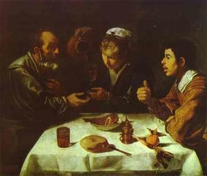 Diego Velazquez - Pranzo The Farmers