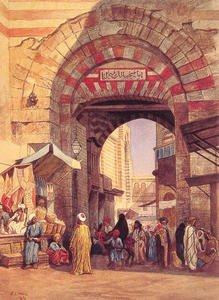Edwin Lord Weeks - Il moresco Bazaar