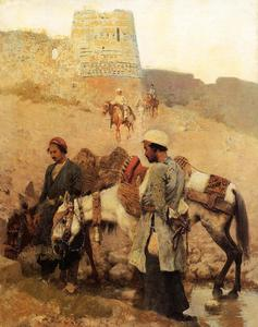 Edwin Lord Weeks - Viaggiare in Persia
